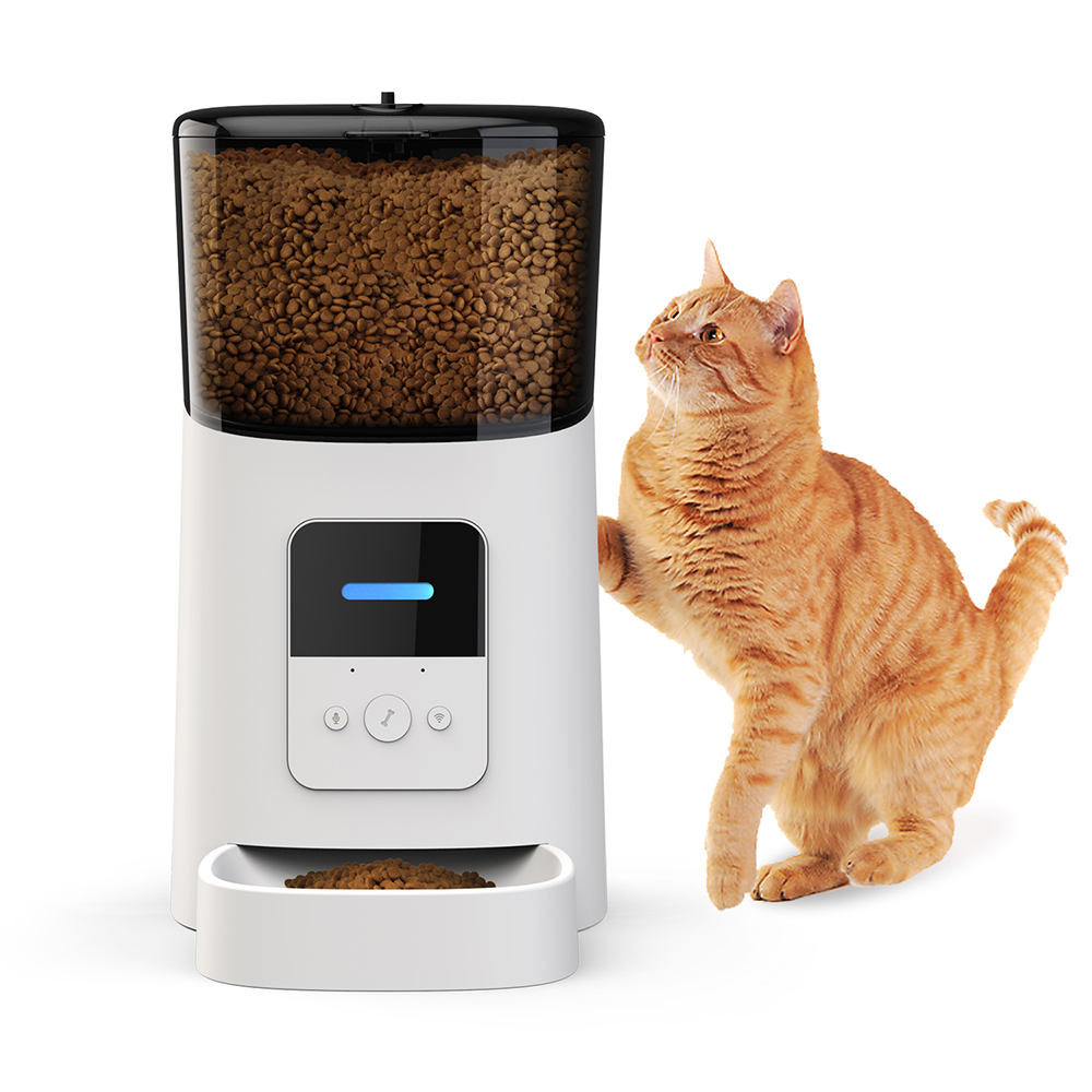 Automatic dog feeder and cat feeder for dogs that can be left alone | DogsMall-International
