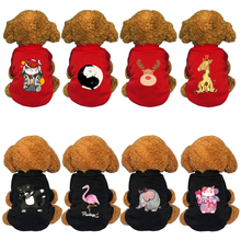 Cats Hoodies Pet-Clothing for Coat Jacket Kitty Winter Apparel Costume Dogs Warmth