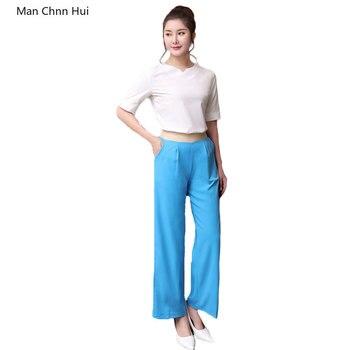 Summer blue short sleeve Beauty uniform thai salon beautician spa work clothes womens foot bath sauna clothing