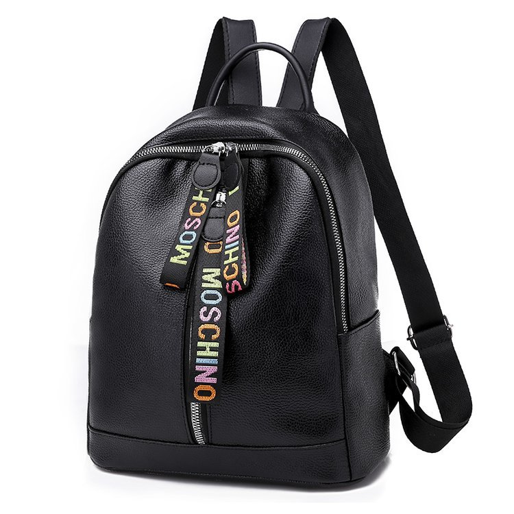 New Style Europe And America Popular Ribbon Backpack Elegant Versatile Fashion WOMEN'S Bag Manufacturers Wholesale On Behalf Of