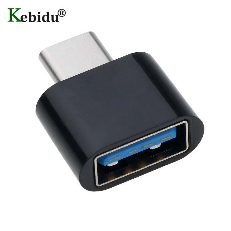 Kebidu USB 3.0 To Type C Adapter OTG Converter Charger USB-C Port Adapter Charging Sync For One Plus Xiaomi Huawei Macbook