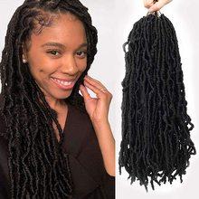 Braiding-Hair-Extensions Braids Crochet-Hair Dreadlocks Curly Faux-Locs Wavy Natural