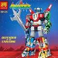 Идеи совместимы 21311 Voltron Defender of The Universe Модель Строительный блок кирпичи робот королевские игрушки для детей Подарки