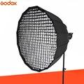 Godox P90L 90 см глубокое параболическое крепление Bowens портативный софтбокс + сетка P90 для студийной вспышки фотостудии софтбокс