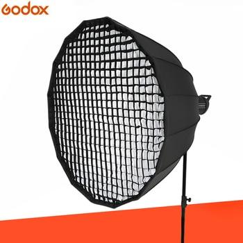 Godox P90L 90CM Deep Parabolic Bowens Mount Portable Softbox + P90 Grid for Studio Flash Photo Studio softbox