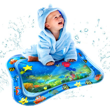 Baby Kids Water Play Mat Inflatable Infants Tummy Time Playmat playmat Toddler Children & Infants water Rug Inflatable mat Fun infants