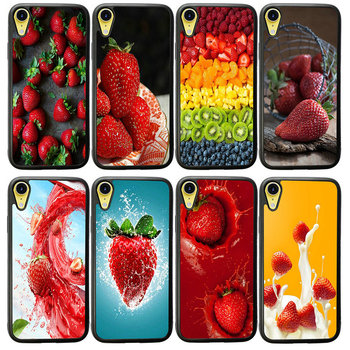 Roasted Strawberry Rhubarb Agua Fresca Cell Phone Cases Hard Cover for iphone 8 7 6 6S Plus X XR XS 11 Pro Max 5S 5 SE 4 4S Case image