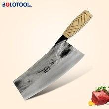 Кухонный нож ручной работы кованый китайский шеф повара разделочный