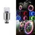 Светодиодный колпачок для шин на колесиках для автомобиля и велосипеда  пылезащитный колпачок  светящиеся огни для автомобильных клапанов ...