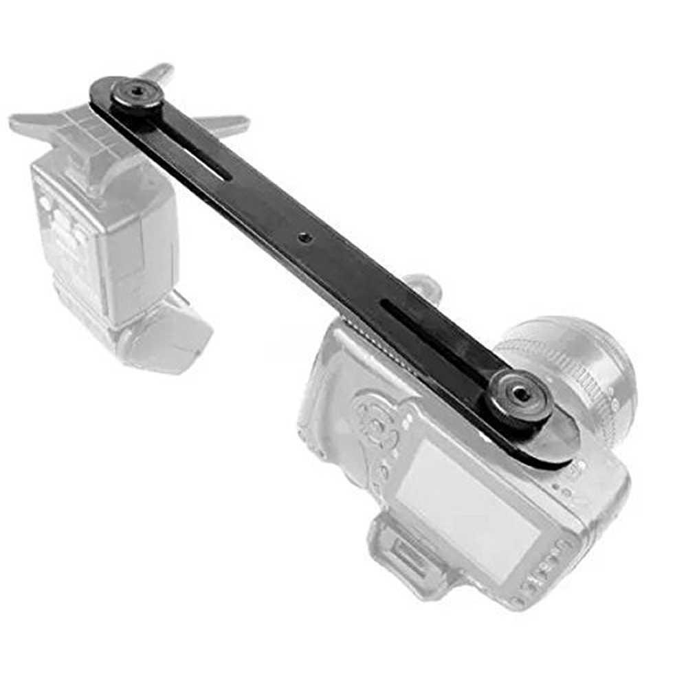 Аксессуары двуглавый двойной Устойчивый Штатив Универсальный 1/4 дюймовый винтовой держатель металлический кронштейн для вспышки студия для цифровой DSLR камеры