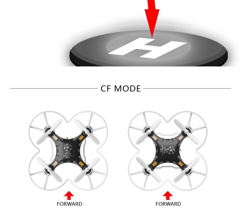 quadcopter przełączane Drone Dollar 11