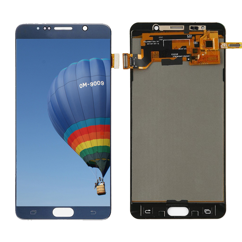 For Samsung Galaxy NOTE 5 LCD Display N920 N920F Display Touch Screen Digitizer Assembly Note5 Replace TFT For SAMSUNG NOTE5 LCD