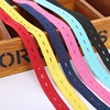 2cm Colorful Adjustable Flat Elastic Band with Button Holes Elastic Band for Baby Diaper Pregnant Garment Sewing Accessories 1M