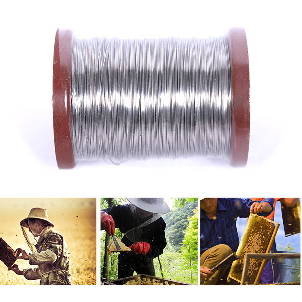 Stainless Steel Bee Hive Frame Foundation Wire Beekeeping Comb Tools 500g 0.5mm