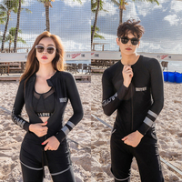 2019 MEIYIER Designer fashion surfing clothes men and women rash guard long sleeve swimwear UV protect outfits couples costume