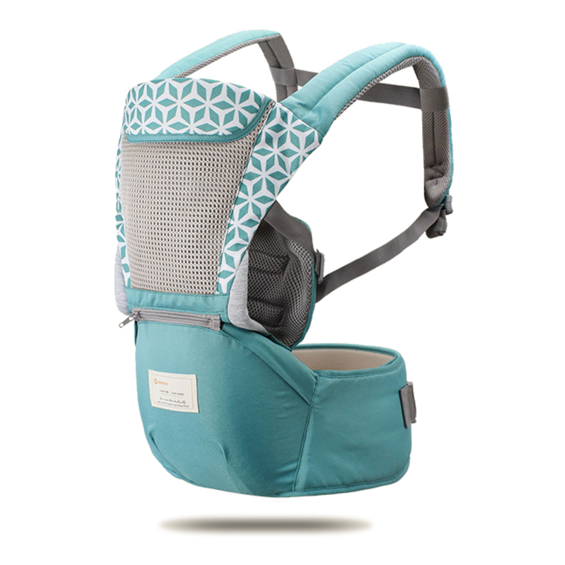 AIEBAO Baby Hipseat Kangaroo Rucksack Mochila Breathable Ergonomic Baby Carrier Hip Seat Baby Sling Wrap Sling