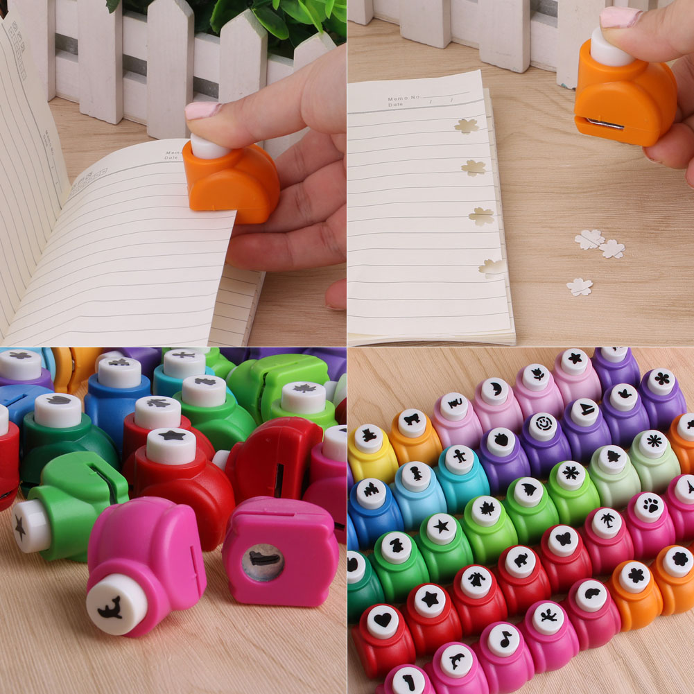 Cute Printing Paper Hand Shaper Scrapbook Tags Cards Craft DIY Punch Cutter Tool Feb7