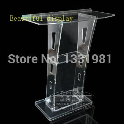 Free Shipping Acrylic Desktop Lectern Hot Selling Acrylic Desktop Lectern  Acrylic Church Podiums