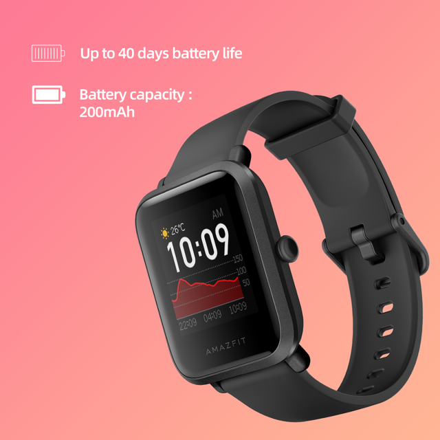 In stock Amazfit Bip S Global Version Smartwatch 5ATM GPS GLONASS Smart Watch for android iOS Phone 4