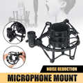 Mic Stand Clamp at2020 atr250 Studio Audio Recording Spiders Microphone Shock Shockproof Mount Clip Holder