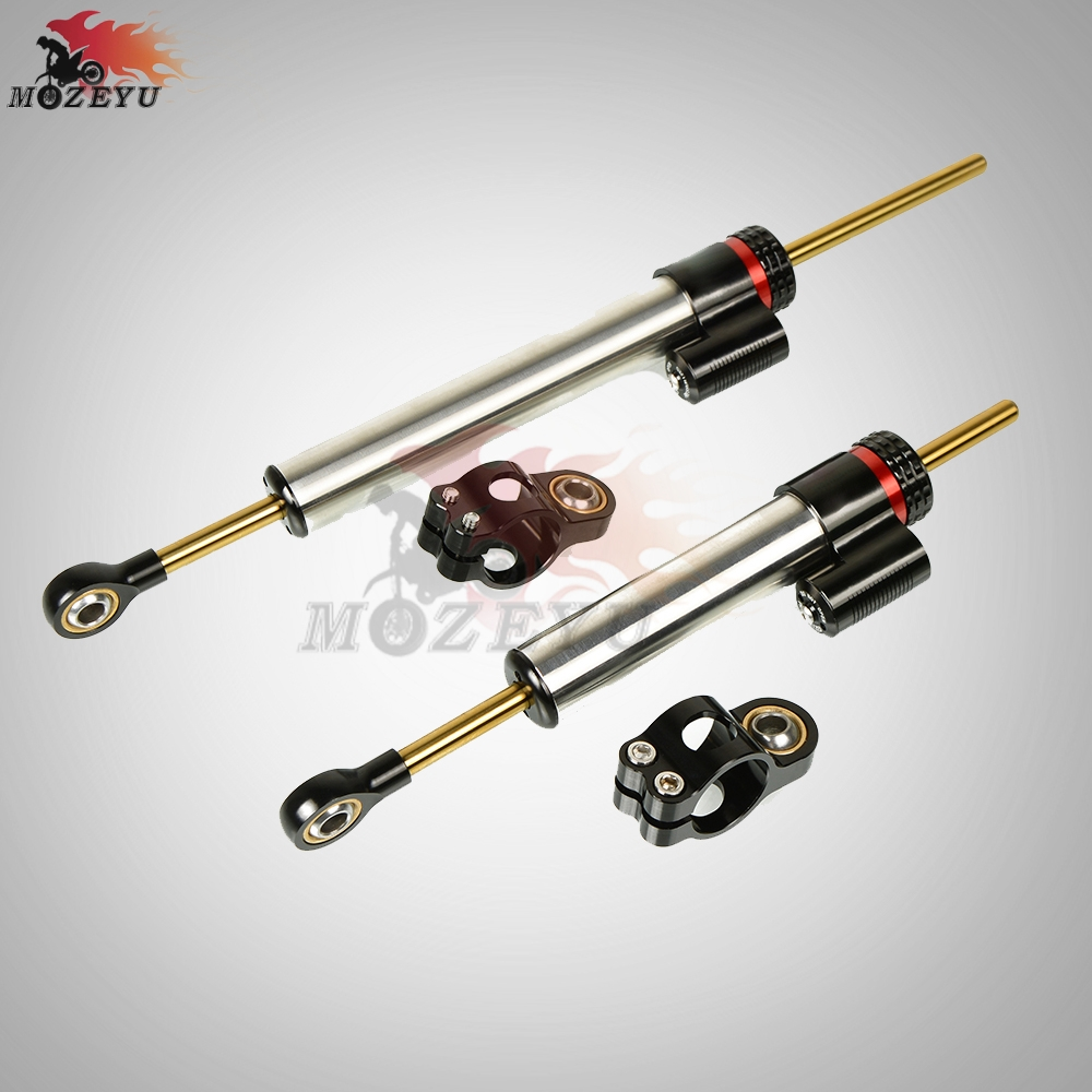 Motorcycle Adjustable Aluminum Damper Steering Stabilize Safety Control for <font><b>BMW</b></font> <font><b>G</b></font> <font><b>310R</b></font> HP4 RACE C400X C650 GT image