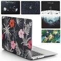 Nueva funda para ordenador portátil para Apple MacBook Air Pro Retina 11 12 13 15 para mac book Pro 13,3 15,4 pulgadas con Touch Bar + cubierta de teclado