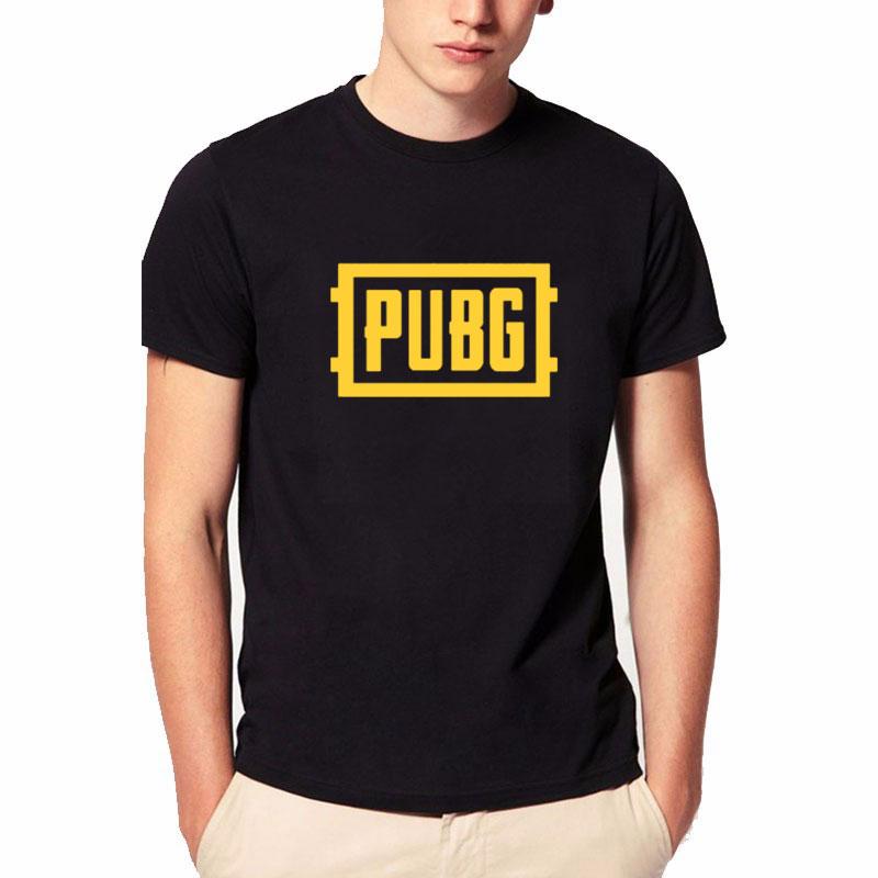 PUBGPLAYER UNKNOWN'S BATTLEGROUNDS T Shirt Game Fans Gift Boy Friend Gift Short Sleeve PUBG T Shirts