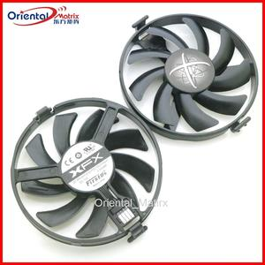 Free Shipping FDC10U12S9-C 12V 0.35A 85mm VGA Fan For XFX RX470 478 480 570 580 Graphics Card Cooling Fan 4Pin