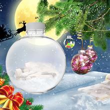 Christmas Tree Ornaments Transparent Plastic Christmas Baubles Balls Hanging Pendant Christmas Decorations Home Decor Pendant все цены
