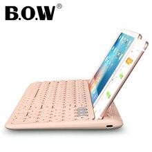 Bow 24 ghz & bluetooth перезаряжаемая клавиатура беспроводные