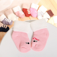 New 0-3Y Winter Autumn Baby Socks Cartoon Thicken Cotton Infants Socks Toddlers Anti Slip Warm Floor Socks Wholesale