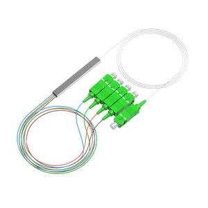 Image 4 - 10 Stks/partij Mini Splitter 1X16 1X8 1X4 1X2 Sm Sc Apc Plc fiber Splitter Pigtail Optic Splitter