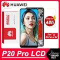 100% Оригинальный 6,1 ''OLED дисплей для Huawei P20 Pro ЖК-дисплей с сенсорным экраном дигитайзер в сборе CLT-L09 CLT-L29 CLT-AL01 запасных частей