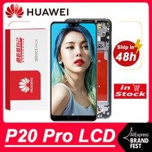 100% original 6.1 oled oled display oled para huawei p20 pro lcd tela de toque digitador assembléia CLT-L09 CLT-L29 CLT-AL01 peças reparo