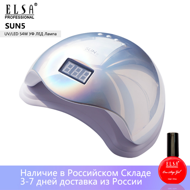 Colorful SUN5 48W Nail Dryer LCD Display 24 LED Dryer Nail Lamp UV LED Lamp For Curing Gel Polish Auto Sensing Lamp For Nails