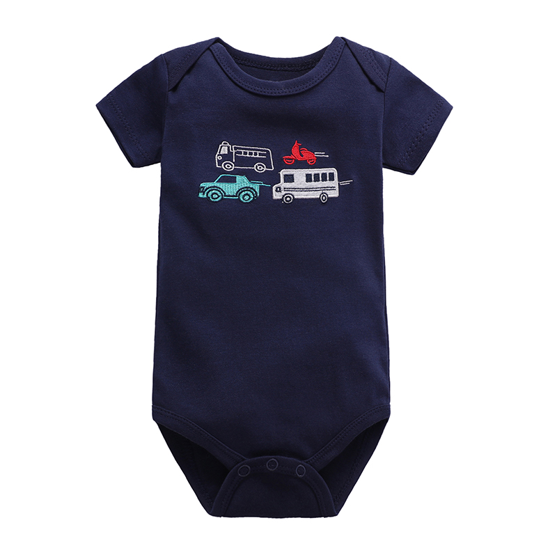 Babies Girls Clothing Bodysuit Newborn Baby Boys Short Sleeve Body 100% Cotton 3 6 9 12 18 24 Months Clothes