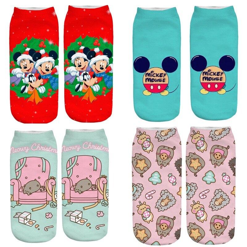 2019 New Explosion Models 1 Pair Of Creative Soft Bottom Socks With Christmas Design For Women Winter Warm Socks Gift