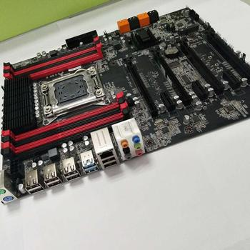 Runing X79 LGA2011 Motherboard With 8 DDR3 DIMMs Slots Discount X79 Motherboard With MSATA Port SATA3.0 Ports PCI-E X16 Slots