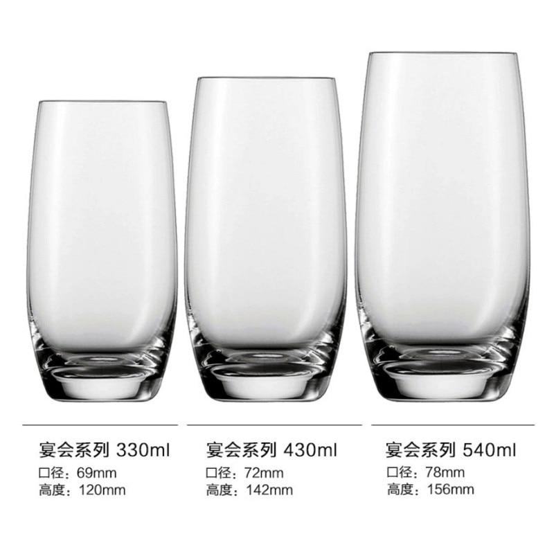 Молочные чашки Verre бар бокал для вина Хрустальная чашка аксессуары пивной сок коктейль виски shot vinho шампанского tazas VEMs de vidrio - Цвет: B 540ml