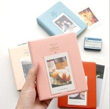 64 bolsos polaroid álbum de fotos mini instantâneo caso de armazenamento para fujifilm instax mini filme 8 coréia instax álbum fotografia