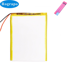 New Cube Tablet PC Battery For Alldocube U78 iPlay 8 iPlay8 Accumulator 3.8V 3500mAh Replacement 2 Wires Plug