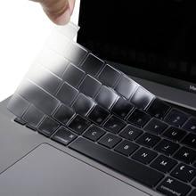 Protetor de silicone da pele do teclado ultra fino tpu claro para 2020 macbook pro 13 a2289 16 a2141 a2338 eua ue japão versão