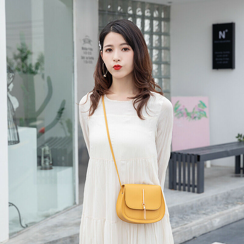 Fashion Solid Women PU Leather Small Handbags Ladies Flap Hard Messenger Cross Body Bags Female Shoulder Bags Satchel Handbags