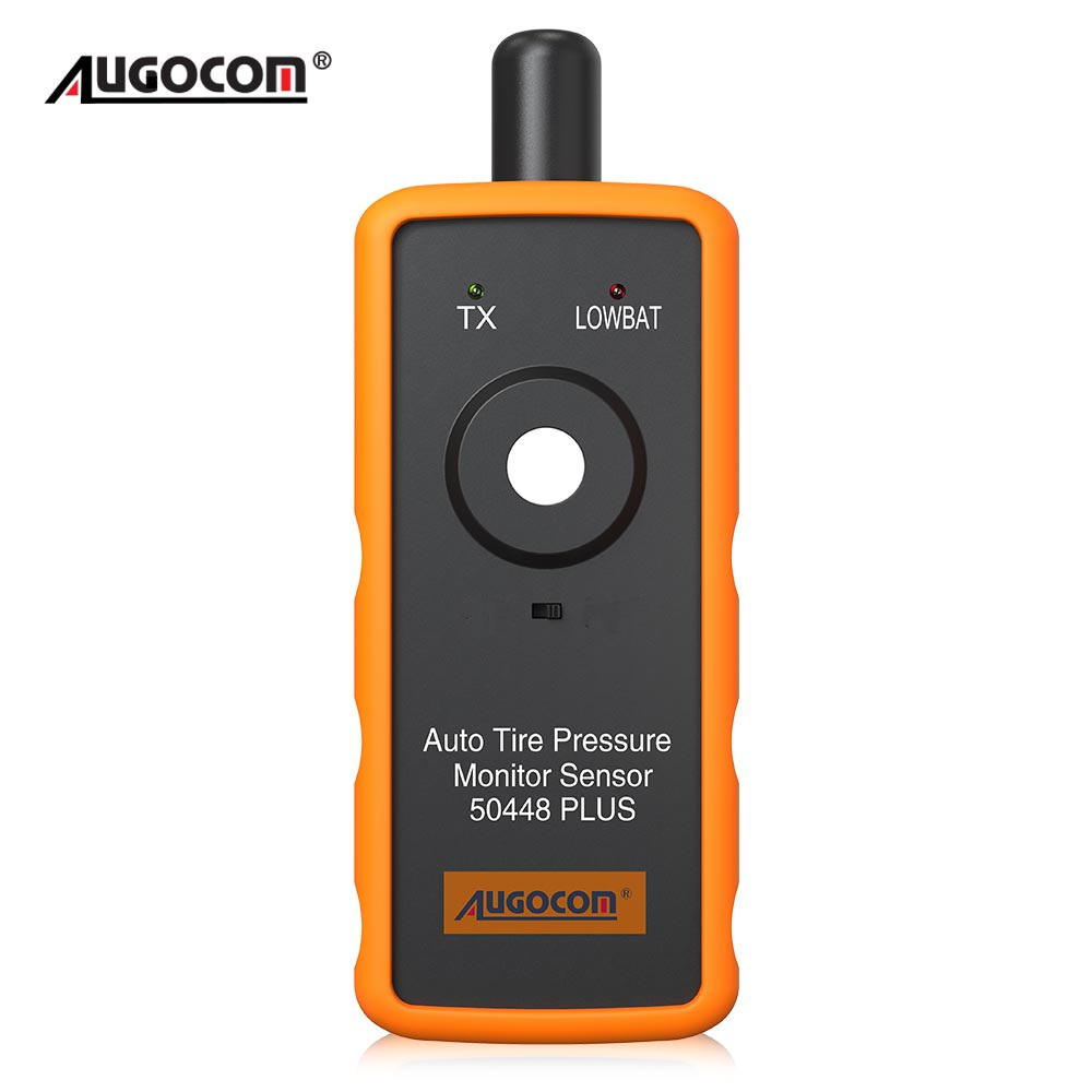 AUGOCOM Auto Tire Pressure Monitor Sensor 50448 Plus 2in1 TPMS Activation Tool for GM/Ford(Hong Kong,China)
