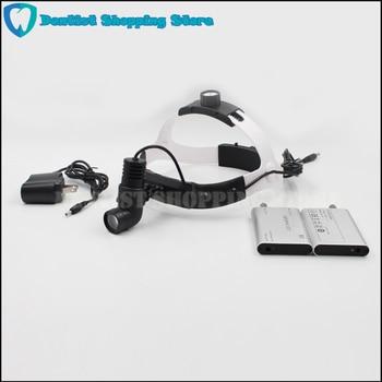 Surgical headlight medical led light loupe magnifier headband lamp adjustable high intensity dental light фото