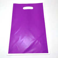 Purple Solid Color Candy Gifts Bags Happy Baby Shower Decorations Kids Boys Favors Birthday Events Party Loot Bag 100pcs/lot