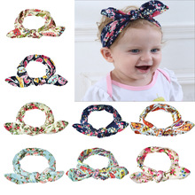 Cute Baby Girl Headbands Knitted Newborn Baby Bows Hearband Turban Infant Head Bands Hairbands For Kids Girl