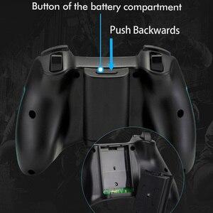 Image 4 - EasySMX 2 adet ESM 9013 kablosuz Gamepad Joystick oyun denetleyicisi ile titreşim Joystick PC için PS3 Android TV kutusu telefon oyuncular