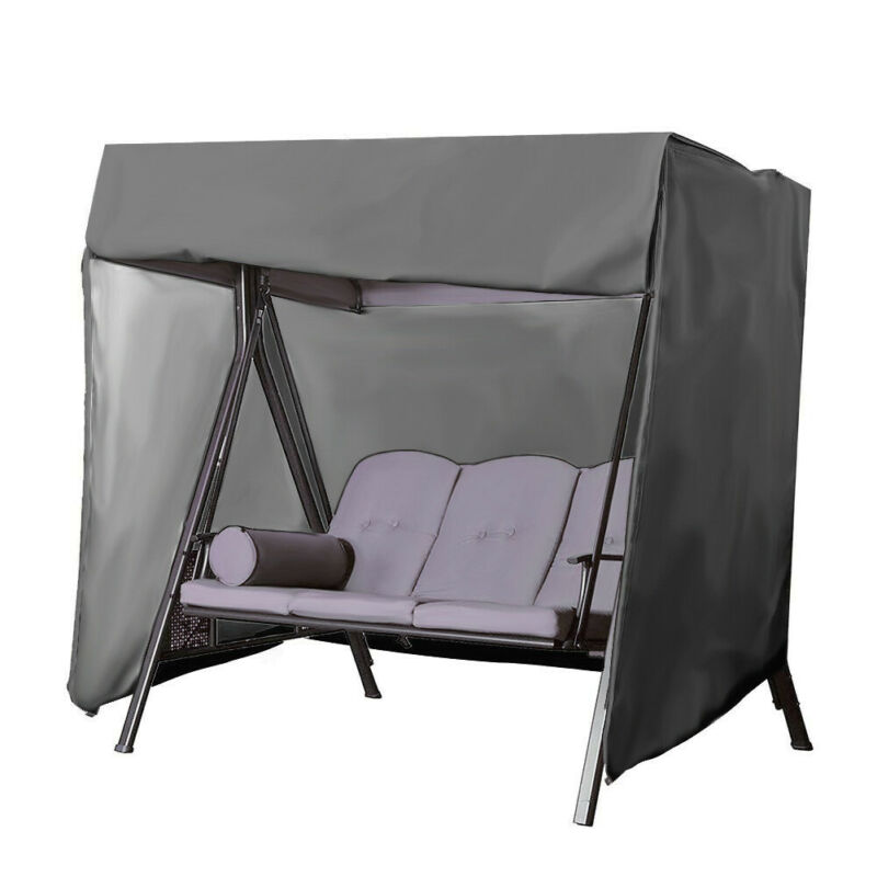 HOT Garden Swing Cover Waterproof Top Cover Dust Cover Canopy Replacement For Ourdoor Swing Chair Hammock Swing Chair Awning