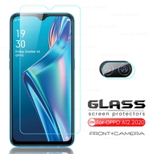 Protective-Glass Phone-Screen-Protectors Oppo A12 Appo Glas-Camera for Film-Guard-Cover